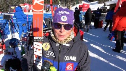 Interview - Tessa Worley, 4ème sur le Super G à Lake Louise - Vidéo FFS/Eurosport