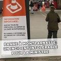 Panne à Montparnasse: Un incident intolérable pour la Ministre des transports