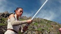 Star Wars Les Derniers Jedi  - Entrainement Acteurs aux combats