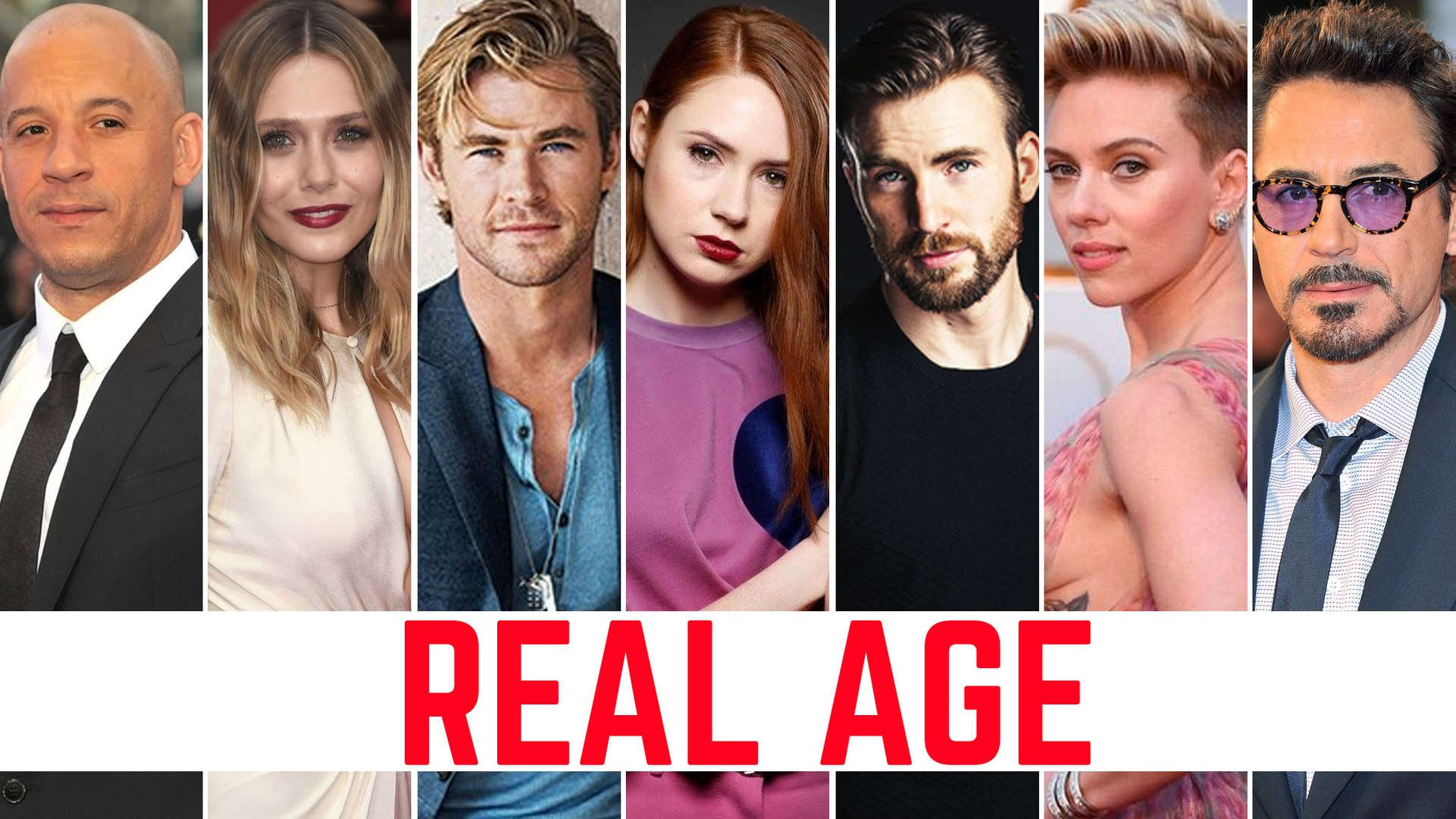 Avengers: Infinity War | Real Age | Avengers: Infinity War Cast | Avengers: Infinity War Movie