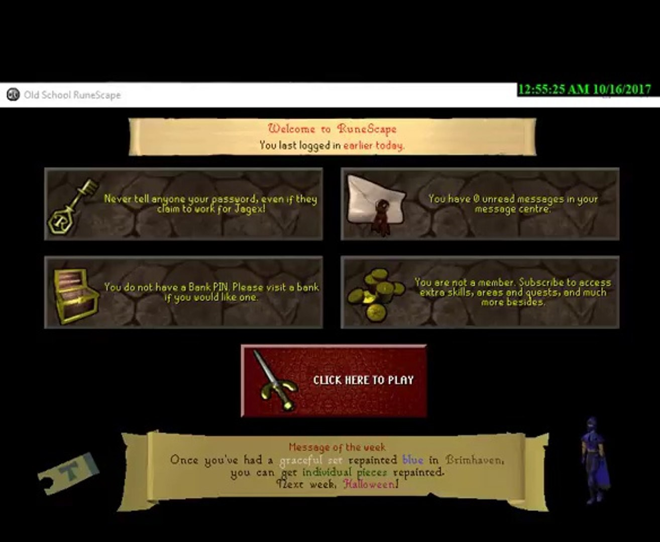 Osrs 07scape F2p Pking Range 2h Delays 1 By Runescapersownu