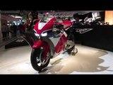 Honda RCV road-legal V4 superbike   EICMA 2014   Visordown Exclusive