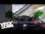 Kawasaki ZX-10R Onboard Fast Lap | Amazing High Speed Bikes | Visordown Onboard Motorcycle Reviews