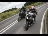 Yamaha MT-10 vs BMW S1000R Review Road Test   Visordown Motorcycle Reviews