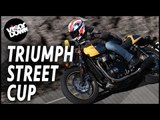 Triumph Street Cup Review First Ride | Visordown Motorcycle Reviews