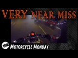 Motorcycle VERY near collision   Motorbike Monday