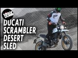 Ducati Scrambler Desert Sled Review First Ride | Visordown Motorcycle Reviews