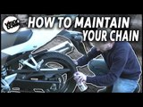 Motorcycle Tips | How to maintain your chain | Visordown