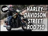 Harley-Davidson Street Rod 750 Bike Review First Ride | We ride Harley's new Street Rod 750