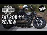 Harley-Davidson Fat Bob 114 Review | Visordown.com
