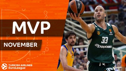 November MVP: Nick Calathes, Panathinaikos Athens