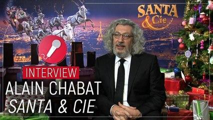 """Alain Chabat (Santa & Cie) : """"Le cynisme, c'est la dernière des qualités"""" ( INTERVIEW VIDEO)"""