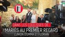 Mariés au premier regard : dans les coulisses du mariage de Florian et Emma (VIDÉO)