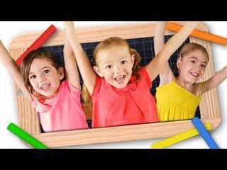 La chanson de l'école - Je suis au CP - Danse des Titounis
