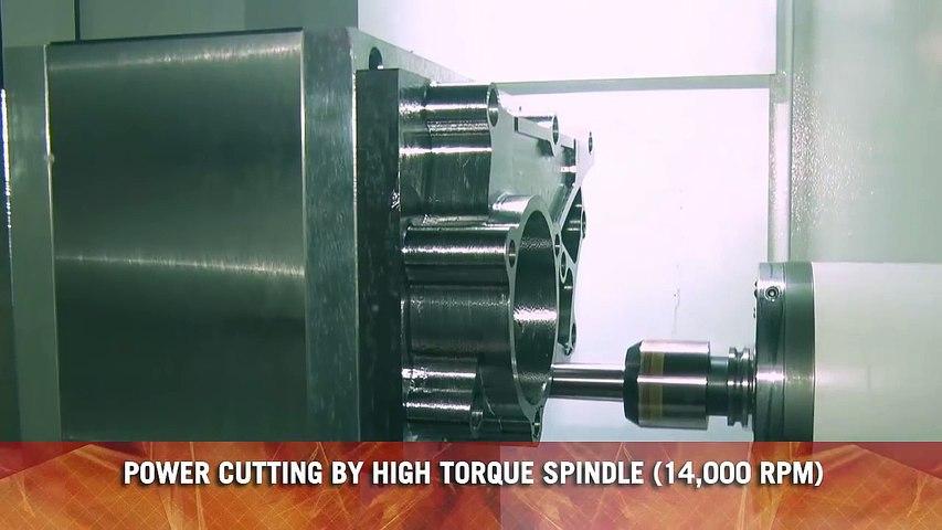 【괴물 기계】 놀라운 CNC 절단 기계, 현대 기계 CNC