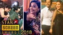 Inside Star Screen Awards 2018 - Salman Khan, Varun Dhawan, Vidya Balan - BEST MOMENTS