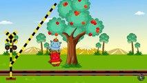 踏切 アニメーション ❤ ふみきり 鉄棒 逆上がり 林檎 E6系 新幹線 こまち ★ 歌のアニメーション こども向けの歌 赤ちゃん 泣き止む おもちゃ railway crossing apple-muQf4Agpf-o