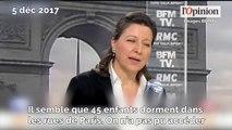 SDF: Agnès Buzyn favorable aux réquisitions de lieux
