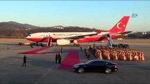 Başbakan Yıldırım, Güney Kore'de Resmi Törenle Karşılandı