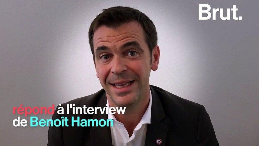 BRUT - Droit de réponse : Olivier Véran réagit aux propos de Benoît Hamon sur le secteur hospitalier