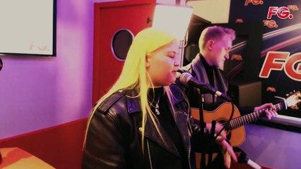 ALMA Live Acoustique Studio RADIO FG (chanteuse Finlandaise)