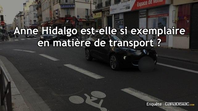 Enquête exclusive - Anne Hidalgo prône le métro, mais se déplace uniquement... en voiture