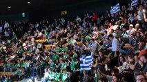 Greek Flags in the TD Garden