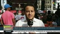 Brasil: caravana de Lula continúa por Espíritu Santo