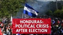 Political crisis in Honduras following presidential election