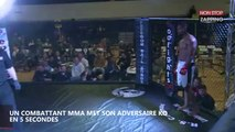 MMA : Un combattant met son adversaire KO en 5 secondes (Vidéo)