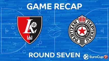 7DAYS EuroCup Highlights Regular Season, Round 7: Rytas 93-75 Partizan