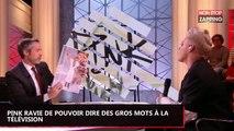 Quotidien : Pink ravie de pouvoir dire des gros mots à la télévision française (Vidéo)