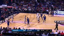 Kevin Durant & DeMarcus Cousins Scuffle Both Ejected | Warriors vs Pelicans | Dec 2017, 2017