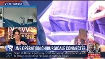 Première mondiale à Bobigny: une opération chirugicale a été réalisée avec des lunettes de réalité augmentée