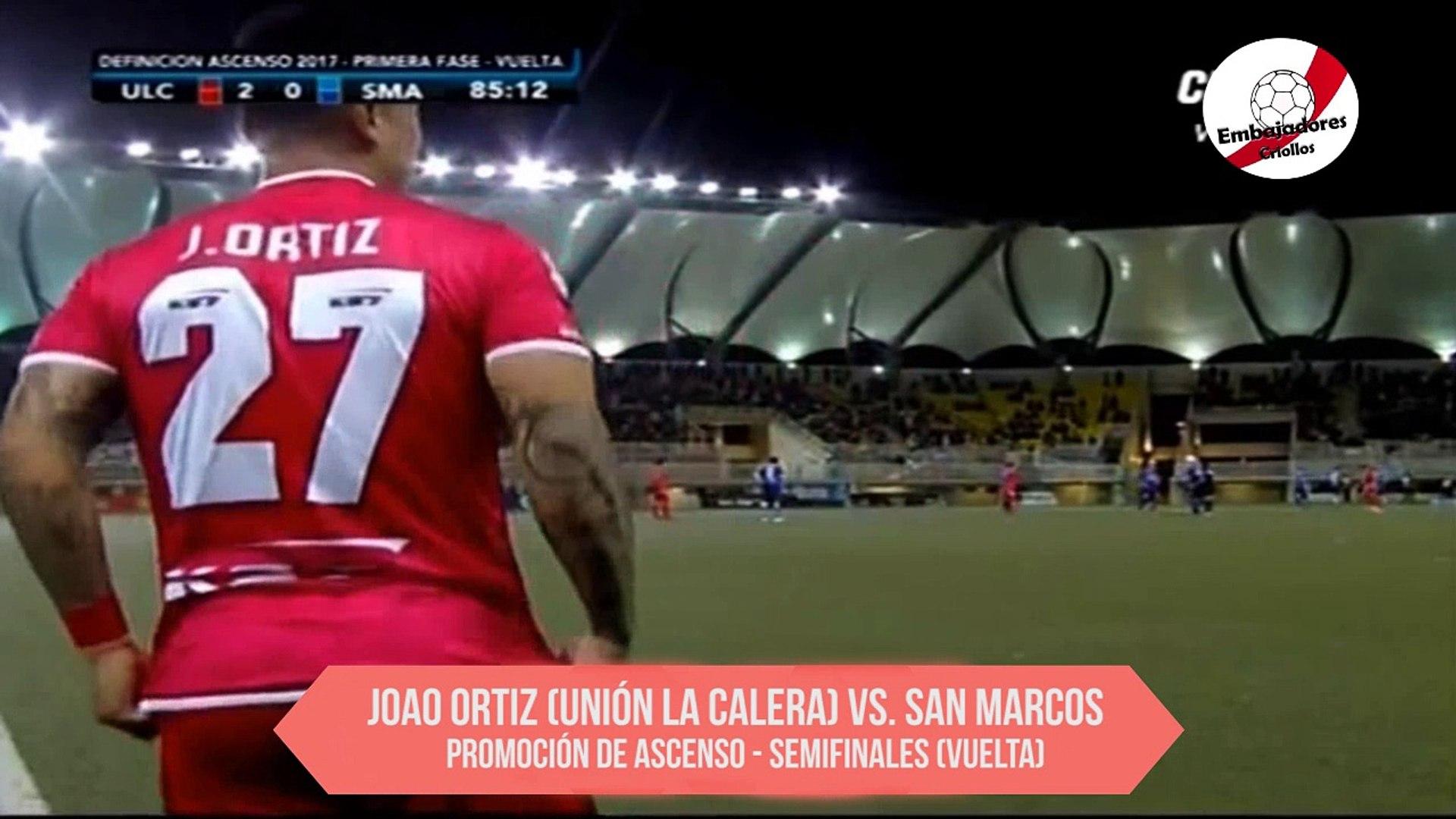 Compacto de Joao Ortiz vs. San Marcos