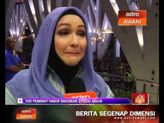 200 Peminat Hadir Saksikan Episod Akhir Bukan Kerana Aku Tak Cinta Video Dailymotion