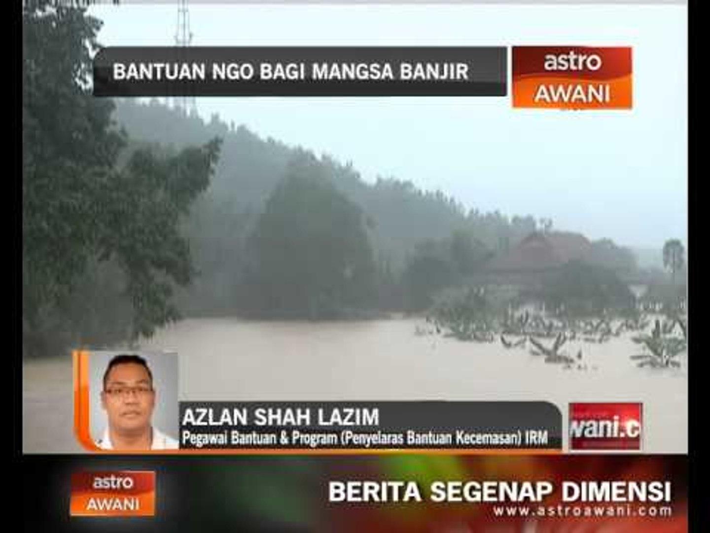 Bantuan NGO bagi mangsa banjir