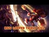 2016 LPL Spring Highlights: RGN Lopper Poppy like a god