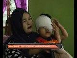 Kanak-kanak dua tahun buta akibat kanser mata tahap empat