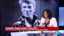 """French Icon Johnny Hallyday dies: """"Jimi Hendrix was his support act!"""""""