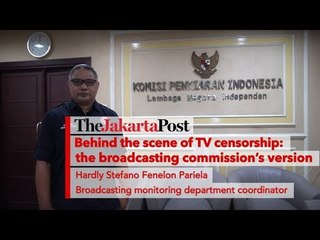 Behind the scene of TV censorship: The broadcasting commission's version