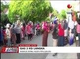 Tabung Gas Elpiji 3 Kilogram Langka di Sejumlah Daerah