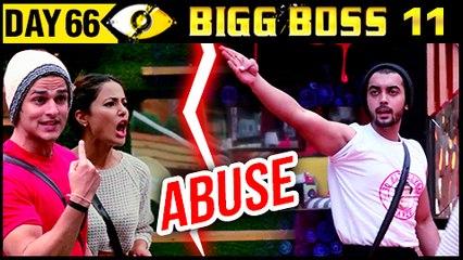 Hina Khan & Priyank Sharma ABUSE Luv | Bigg Boss 11 Day 66 | 6th December 2017 Full Episode Update