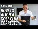 How To Align A Golf Club Correctly | Best Golf Beginner Tips #2 | GolfMagic
