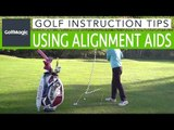Golf Instruction Tips #2: How to use golf alignment aids