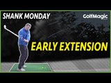 How to stop early extension golf tips | GolfMagic.com
