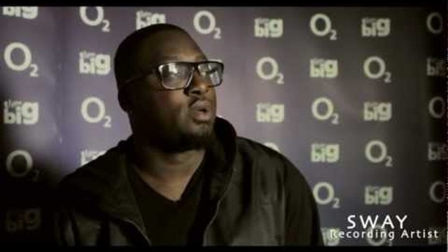 O2 THINK BIG: SWAY & RUDIMENTAL