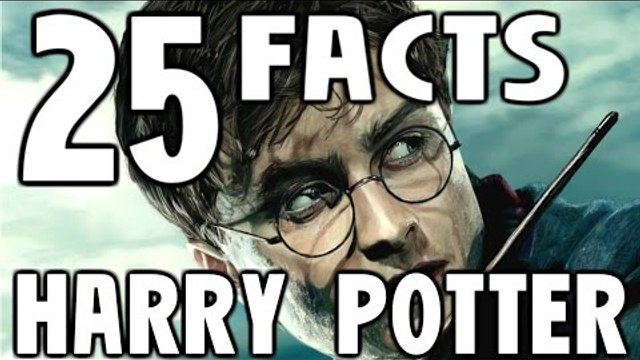 25 HARRY POTTER Facts You Should Know