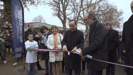 Inauguration de l'extension du collège de l'Aubance à Brissac-Quincé