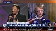 """""""C'est un monument de la culture qui s'en va"""", dit Françoise Nyssen sur Johnny Hallyday"""